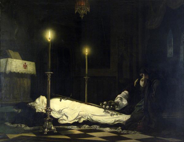 Madarasz_Viktor_-_The_Mourning_of_Laszlo_Hunyadi_-_Google_Art_Project