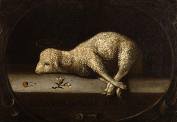 Josefa_de_Ayala_-_The_Sacrificial_Lamb_-_Walters_371193