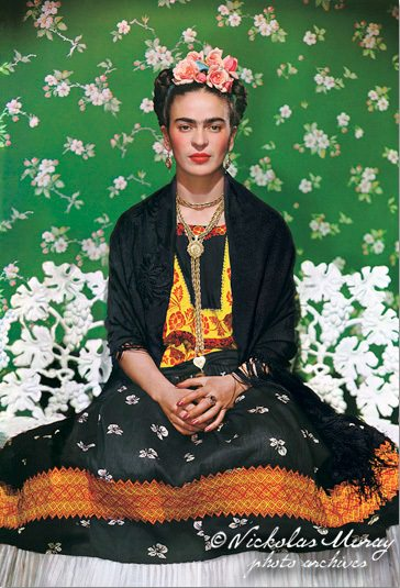 frida-on-bench