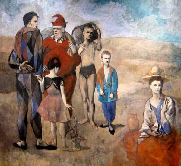 family-of-saltimbanques
