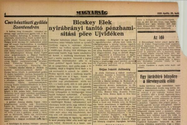 bicskey_elek_magyarsag_1929_aprilis_30