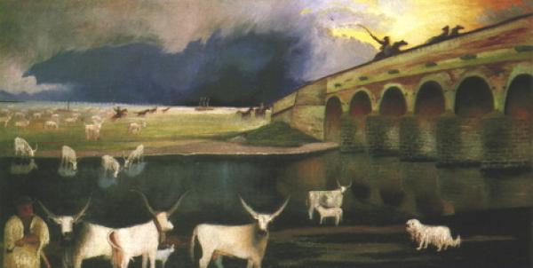 csontvary_kosztka_tivadar__vihar_a_hortobagyon_1903