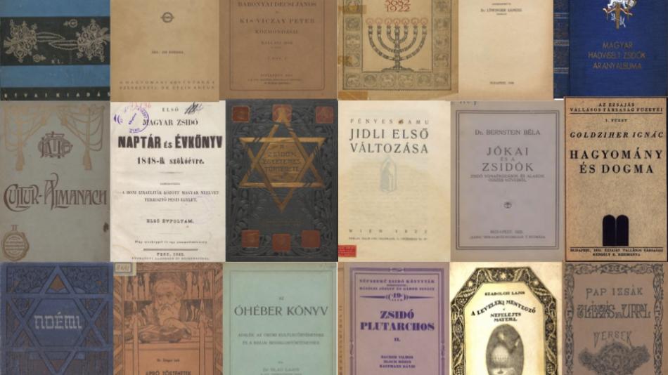 Rengeteg könyv tölthető le ingyen a Rabbiképző könyvtárának gyűjteményéből